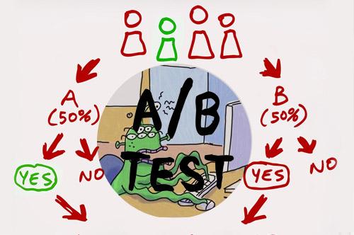 А-Б-тестирование, как способ провести время